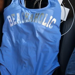 Other - Beachaholic high cut one piece swimsuit